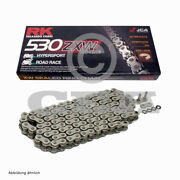 Motorcycle Chain Xw Ring Rk 530zxw With 120 Rolls And Rivet Link Open