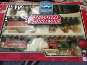 Toy State Animated Christmas Santas Express Train Set Vintage Pre Owned L