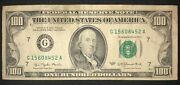 Rare 1977 One Hundred Dollar Bill - Small Face Note 100 United States Federal