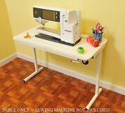 Bernina 830 Arrow Heavy Duty Sewing Table W/insert Sewing Machine Not Included
