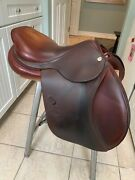 Well-maintained 2015 Cwd Close Contact Pony Jumping Saddle 16.5 2l Medium Tree