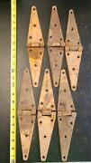 Antique Farm House Hinges Large Size 12 - Barn Find