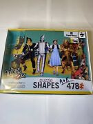 The Wizard Of Oz Puzzle 478 Pieces Character Shaped 33x27 Size