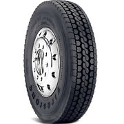 4 New Firestone Fd690 Plus 285/75r24.5 Load G 14 Ply Drive Commercial Tires