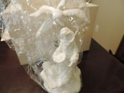 Lenox Christmas Nativity Innkeeper's Daughter New In Box With Coa Bisque China