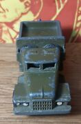 Toy Car Ural Military Equipment Ussr Russia Metal Vintage
