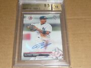 2017 Bowman Topps Holiday Gleyber Torres Autograph/auto /65 Yankees Bgs 9.5 Gem