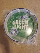 Rock Green Light Beer Tray Wall Hanger - Rolling Rock - New Old Stock