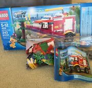 Lego 4208 Fire Truck Complete With Box And Manual