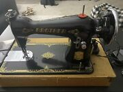 1950's Antique Brother Sewing Machine Mfg Co Nippon Japan A 31237 Vintage Nice