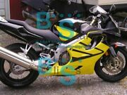 Yellow Injection Fairing + Tank Cover Fit Honda Cbr600f4i 05 06 2004-2007 32 A3
