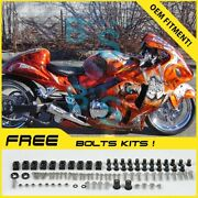 Airbrushed Fairings Bodywork Complete For Gsx-r1300 Hayabusa 1997-2007 98