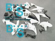 White Injection Fairing With Full Tank Fit Yamaha Yzf-r1 2004-2006 059 A2