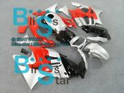 Silver Injection Fairing With Tank Cover Fit Honda Cbr600f3 1997-1998 54 A5