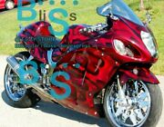 Airbrushed Gsxr1300 Fairing With Tank Seat Fit Gsx-r1300 97-07 97 A3