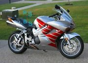 Designs Red Abs Fairing With Tank Cover Fit Honda Vfr800 2002-2012 25 A4