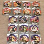 Digimon Shop Happy Halloween Can Batch Badge All 17 Types Set Limited