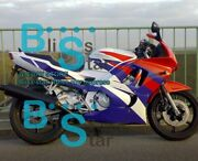 White Injection Fairing With Tank Cover Fit Honda Cbr600f3 1997-1998 32 A3
