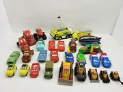 Disney Pixar Planes Fire Rescue And Cars Lot Diecast And Plastic Monster Truck Rare