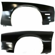 Fender Set For 82-92 Chevrolet Camaro Front Left And Right 2pc