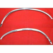 New Fender Trims Moldings Mouldings Set Of 2 Front Driver And Passenger Side Pair