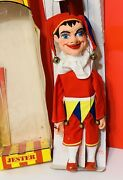 Extremely Rare Pelham Puppet Marionette Court Jester Boxed