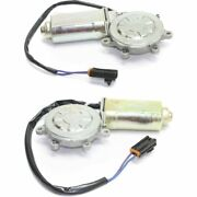 Window Motor For 1993-1997 Nissan Altima/1993-98 Quest W/ Gear Lh And Rh Set Of 2