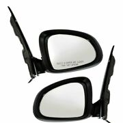 Power Mirror For 2012-2017 Buick Verano Convenience Manual Fold Paintable 2pc