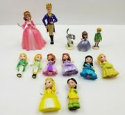 Disney Princess Sofia The First Talking Castle Mini Figures And Cake Toppers More