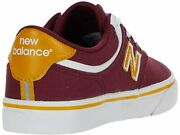 New Balance Numeric 255 Kids Burgundy And Gold Shoes - Buy