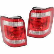 Set Of 2 Tail Light For 2008-2012 Ford Escape Xlt Lh And Rh