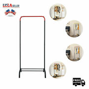 Clothing Garment Rack Heavy Duty Grade Clothes Stand Rack With Rod Storage Shelf