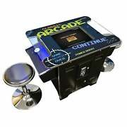 Arcade Video Game Cocktail Table Machine 60 Classic Games 2 Player Opposite Side