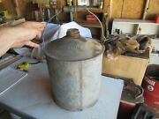 Vintage 5 Gallon Oil Can Great Northern Railroad Lot 21-40-1
