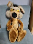 Vintage 24k Special Effects Wile E. Coyote 24 Plush 1993 Warner Bros Poseable