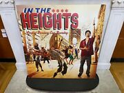 In The Heights Huge Foam-core Broadway Album Cover Poster Autographed Lin-manuel
