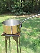 Mauviel 3.8mm French 28cm Copper Sauce Pan Nickel Lining France Nos
