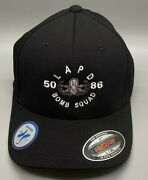 Lapd Bomb Squad Hat - Brand New - Free Shipping