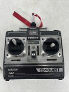 Futaba Conquest Fp-t4nl Transmitter And Fp-r4f Rx/servos 4 Channel Parts/repair