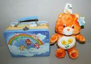 2002 Care Bears Have A Rainbow Day Lunch Box And 9 Plush Special Ed Friend Bear