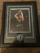 Luka Doncic 2018-2019 Roty Autographed Photo Mavericks Collectible With Coa🔥