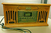Spirit Of St. Louis Phonograph Record Player Cd Tape Player Radio Am/fm 4 In 1