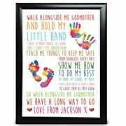Personalised Gifts Godmother