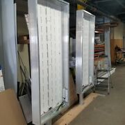 Car Wash Light Box Signs H72and039and039x30and039and039x3.75and039and039 With Floor Flange
