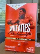 Wheaties Century Collection Gold Box 1 Muhammad Ali Brand New/sealedsold Out