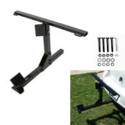 Universal Motorcycle Heavy Duty Trailer Carrier Tow Hitch Rack W/ Tie-down Bar