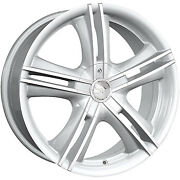 4 - 18x7.5 Hypersilver Alloy Ion Style 161 Wheel 5x112 And 5x120 +40 Offset 161...