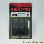 Jeep Winter - Usa - Blister - Flames Of War C1603