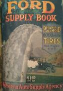 1920 Western Auto Ford Owners Supply Book Parts Catalog Antique Car Model A T