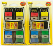 3m Post-it 2 Pack Lot Flags 4 Colors And Sign Here 250ea Pack 500 Total 1 Wide
